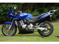 Honda Hornet CB600F 2002 Blue 25k 1yr MOT Carbon Exhaust - Delivery Possible