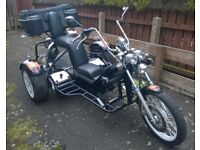 1300cc VW Custom Beetle Trike 2 Seater