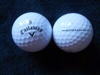 100 Callaway Mixed Model Golf Balls - Pearl Condition