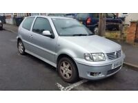2001 VOLKSWAGEN POLO 1.4 TDI £30 A YEAR ROAD TAX ONLY ENGINE GEARBOX SPOT ON DAILY DRIVEN