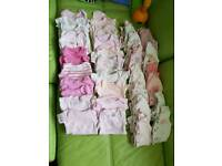 Tiny baby early prem clothes girls bundle
