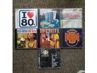 JOBLOT OF COMPILATION CDS