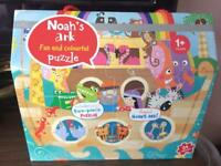 M&S Noah's Ark two-piece puzzles Brand New