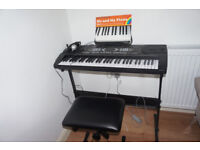 piano + stand *Excellent condition £40
