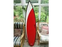 """6'1"""" TufLite Tom Carroll Byrne Shortboard"""