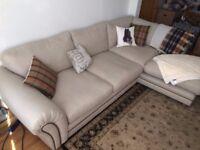 18month Left Hand Corner Sofa for Immediate Sale