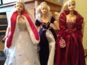 Holiday Barbies- Collectables