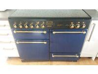 Rangemaster 110 duel fuel cooker