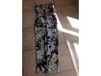 Lipsy Floral jumpsuit - size 10