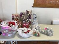 Huge Lot Of Brand New Christmas Baubles