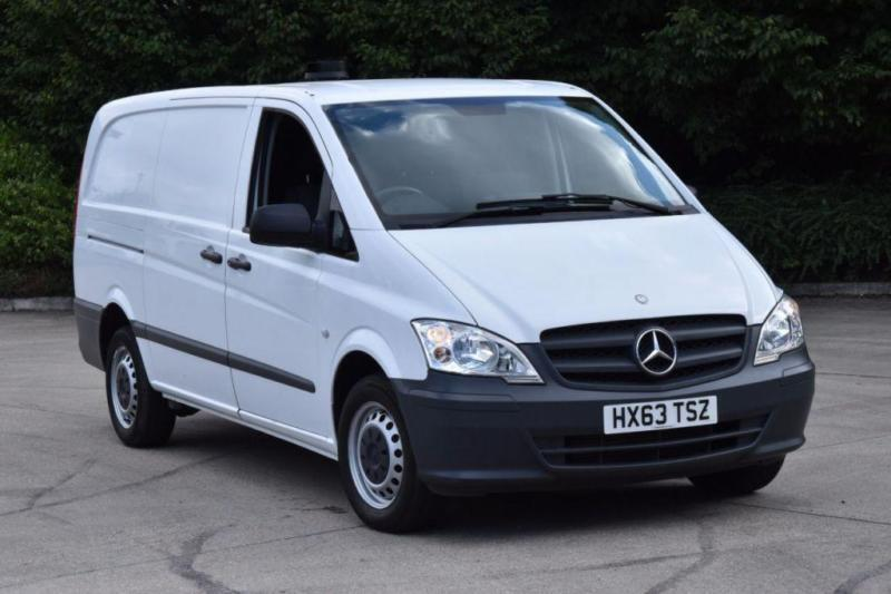 2.1 113 CDI 6D 136 BHP LWB FWD EURO 5 DIESEL PANEL MANUAL VAN 2013