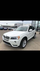 2012 BMW X3 White SUV, Crossover