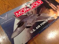 Monopoly U.S. Air Force edition IMMACULATE CONDITION