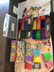 Double and Single Loom Cases and elastics Book
