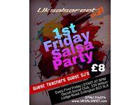 Birmingham 1st Friday Salsa Party