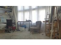 Art Studio - Sublet 1yr (poss 2) Bow Arts Stratford Studios. 168 ft2. Self contained, *low rent!