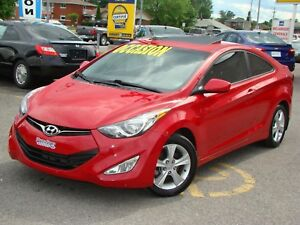 2013 Hyundai Elantra Coupe GLS Coupe Sunroof