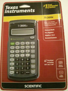 Brand New TI-30Xa Scientific Calculator
