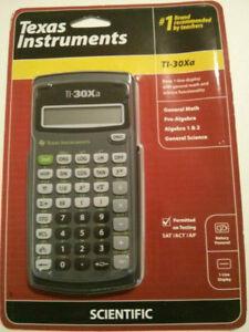 Brand New TI-30Xa Scientific Calculator