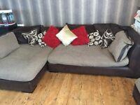 DFS Corner Sofa/Chaise
