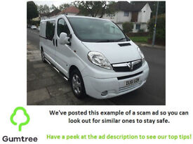 Vauxhall Vivaro 2.0 CDTi Panel Van - 2011 -- Read the description before replying to the ad!!