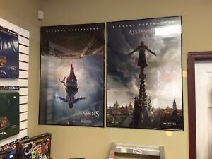 Revival Records - Assassins Creed Movie Theatre Posters