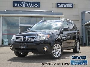 2012 Subaru Forester 2.5X TOURING  5 speed/Leather/Panorama Sunr