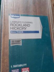 Rockland hickory laminate floor