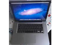 "Apple MacBook Pro 15.4"" 2011, core i7, 2.2GHz, 500GB HDD, 4GB RAM with original box and charger"