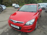 Hyundai I30 1.6 CRDI COMFORT. DIESEL AUTOMATIC, SERVICE HISTORY (red) 2010