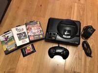 Sega Megadrive + 4 games