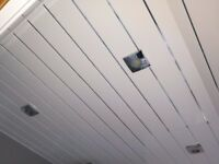 CEILING PANELS WHITE/SILVER