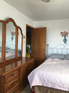 LARGE FURNISHED BEDROOM IS AVAILABLE-FEMALE ONLY