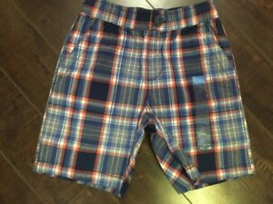 Children's Place Boy's Blue Plaid Shorts - Size 5T - Brand new!