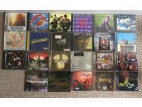 Selection of Rock/Punk/Metal CDs - X23