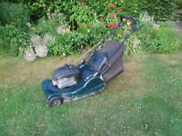harrier 56 power drive lawnmower
