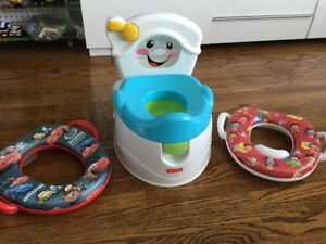 Potty - Childrens Singing Potty and Seat covers