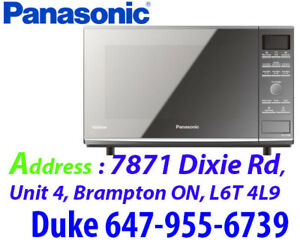 * Stainless Steel Inverter Microwave Oven Panasonic NNCF770M