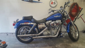 2007 dyna superglide low kms