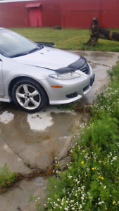 3.0 mazda 6 5spd engine and trans only