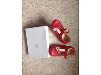 Girls clarks shoes 5.5f
