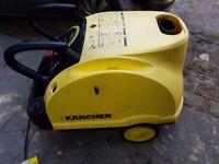 Karcher 601 Eco 110V Industrial Car Wash Hot Pressure Washer Steam Cleaner Fully Serviced Site work