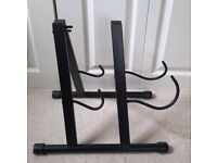 Double Folding Guitar Stand for Home, Rehearsal and Stage Use