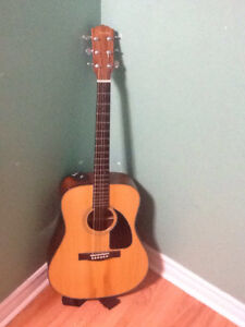 Acoustic  fender  guitar  for sale!!!!