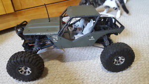 Axial wrath RC rock racer