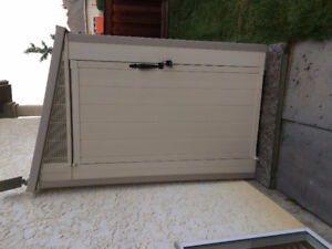 Durable 4x7 Storage shed
