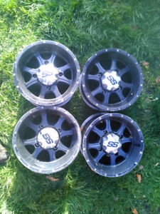 ITP SS rims 12 inch 4x137 Can Am