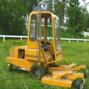 2 Hustler Commercial Grass Cutters + Snow Removal