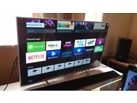 SONY 43-inch SUPER Smart 4K UHD LED ANDROID TV-43X8307,built in Wifi,Freeview & Freesat HD