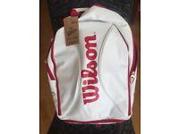 Brand New Wilson Racquet Bag (backpack)